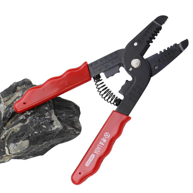 7 in 1 Multifunction Wire Striper Cable Cutter Crimping Pliers ...