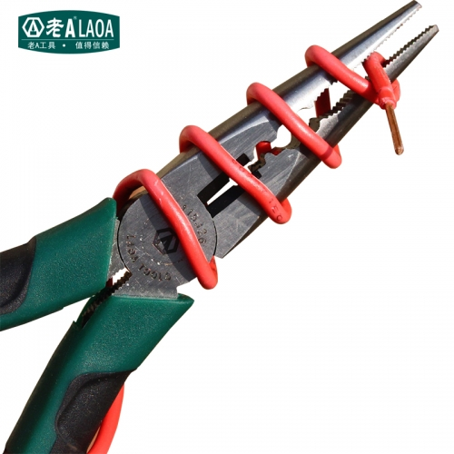 LAOA 6 Inch CR-V Long Nose Pliers For Fishing