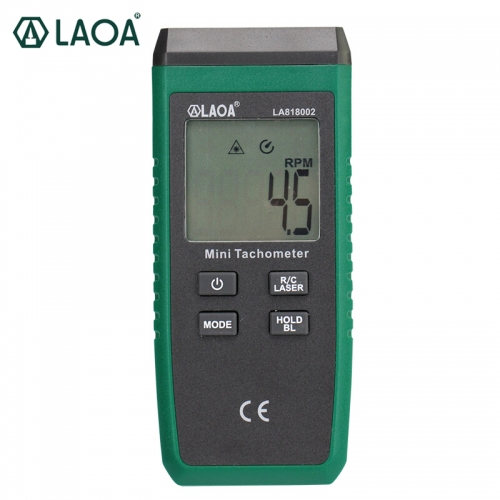 LAOA Tachometer Digital display non-contact motor speed tachometer laser digital tachometer Tachomet